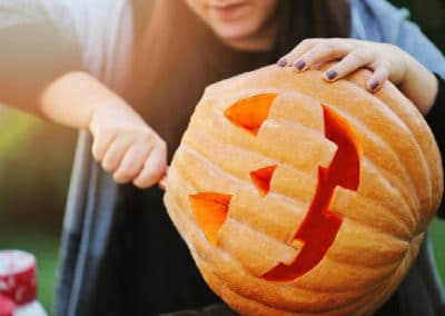 Pumpkin Carving Safety